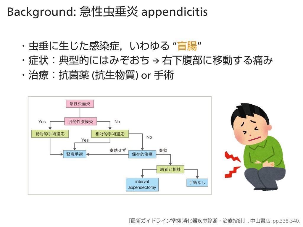 Background: ٸੑਨԌ appendicitis ɾਨʹੜͨ͡ײછɼ͍ΘΏΔ ...