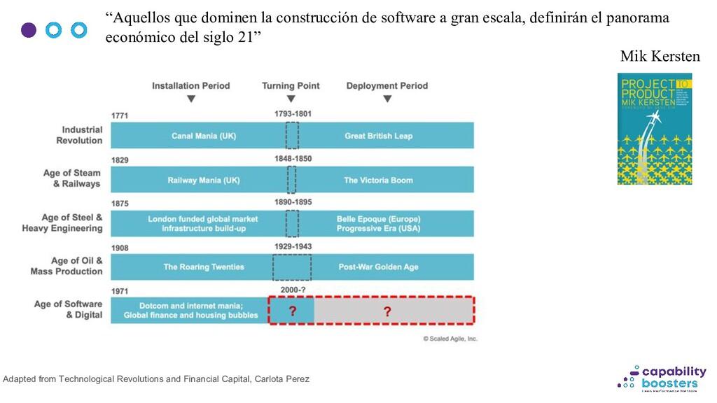"""""""Aquellos que dominen la construcción de softwa..."""