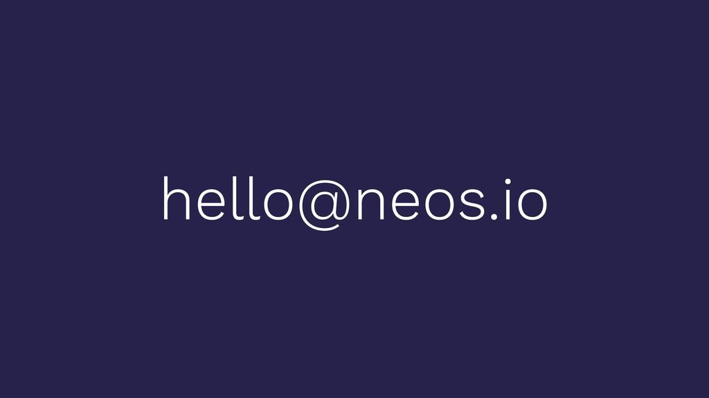 hello@neos.io