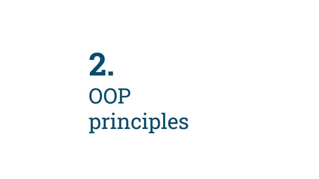 14 2. OOP principles