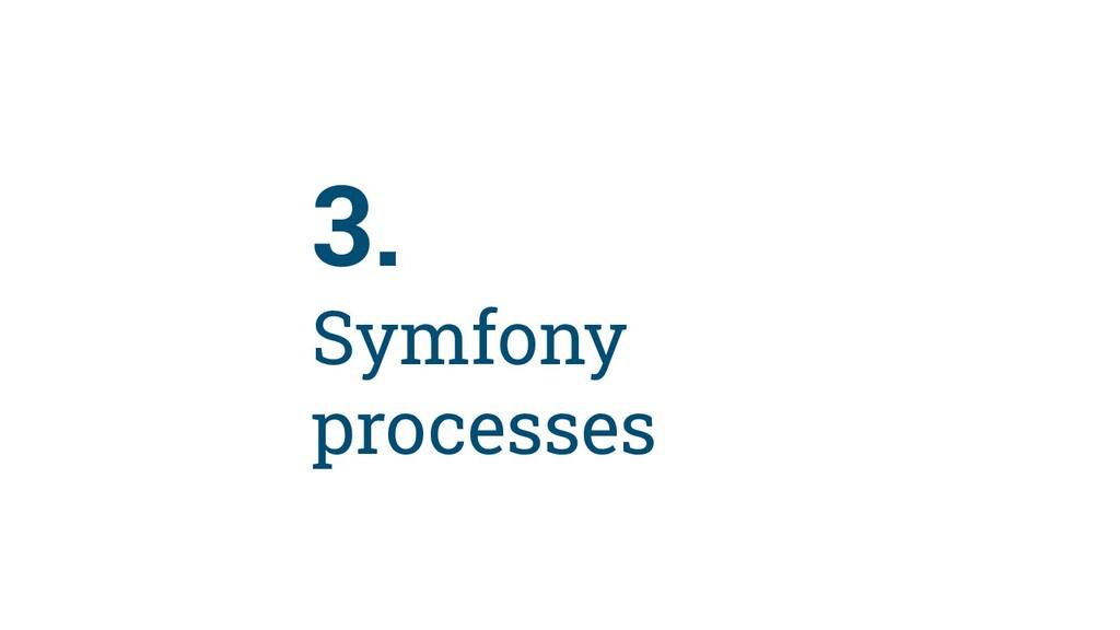 30 3. Symfony processes