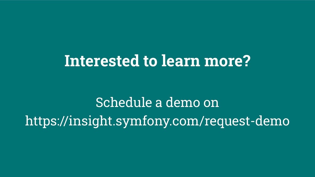 Interested to learn more? Schedule a demo on ht...