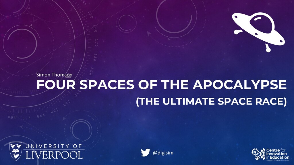 FOUR SPACES OF THE APOCALYPSE (THE ULTIMATE SPA...