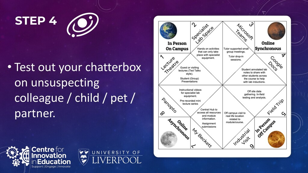 STEP 4 • Test out your chatterbox on unsuspecti...