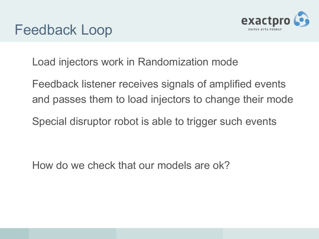 Feedback Loop Load injectors work in Randomizat...
