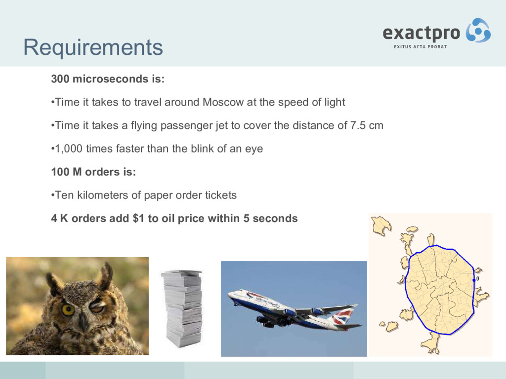 Requirements 300 microseconds is: •Time it take...