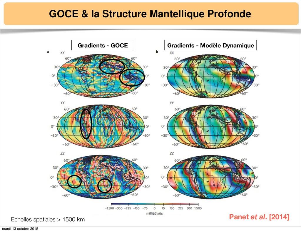 GOCE & la Structure Mantellique Profonde Panet ...