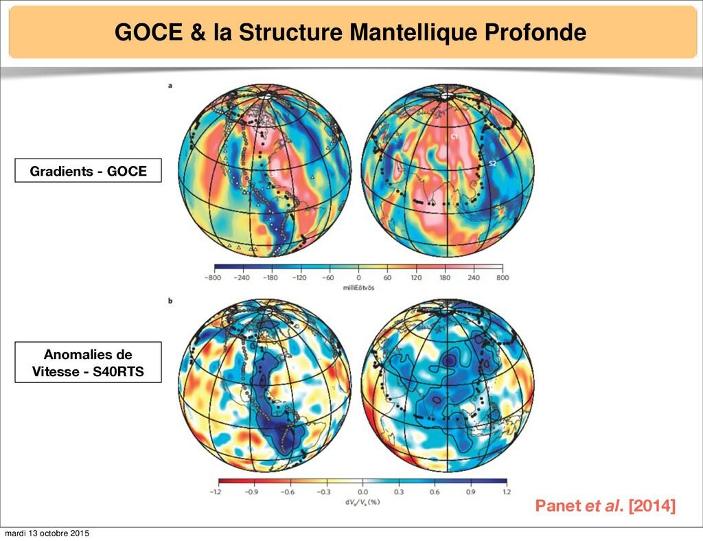 GOCE & la Structure Mantellique Profonde Gradie...