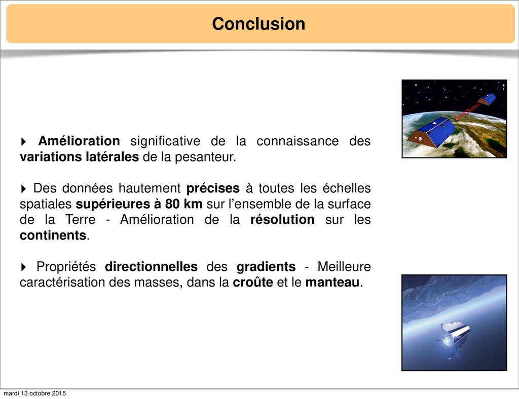 Conclusion ‣ Amélioration significative de la c...