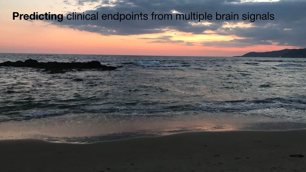 Predicting clinical endpoints from multiple bra...