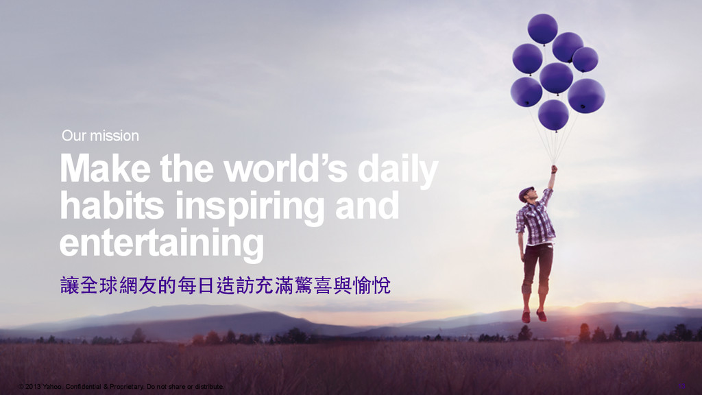 Make the world's daily habits inspiring and ent...