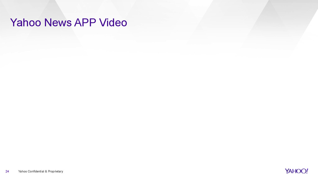Yahoo News APP Video 24 Yahoo Confidential & Pr...