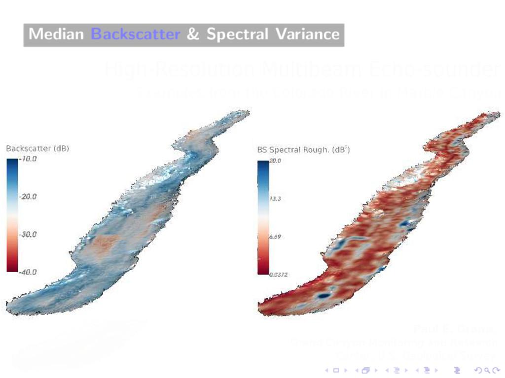 Median Backscatter & Spectral Variance