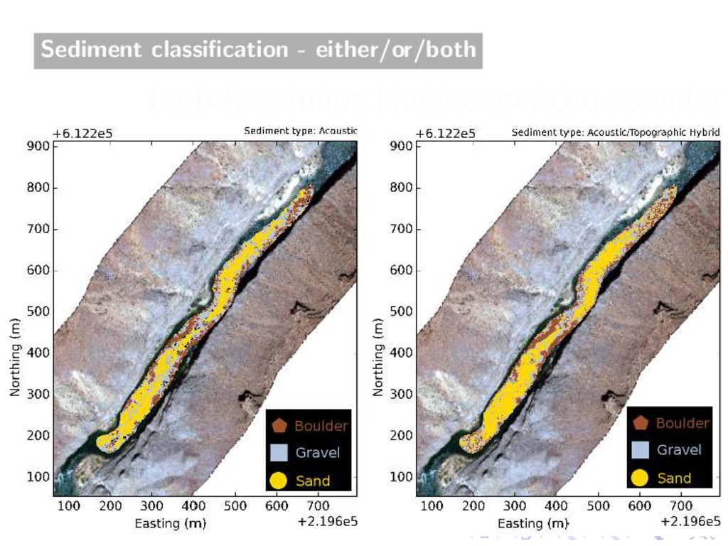 Sediment classification - either/or/both