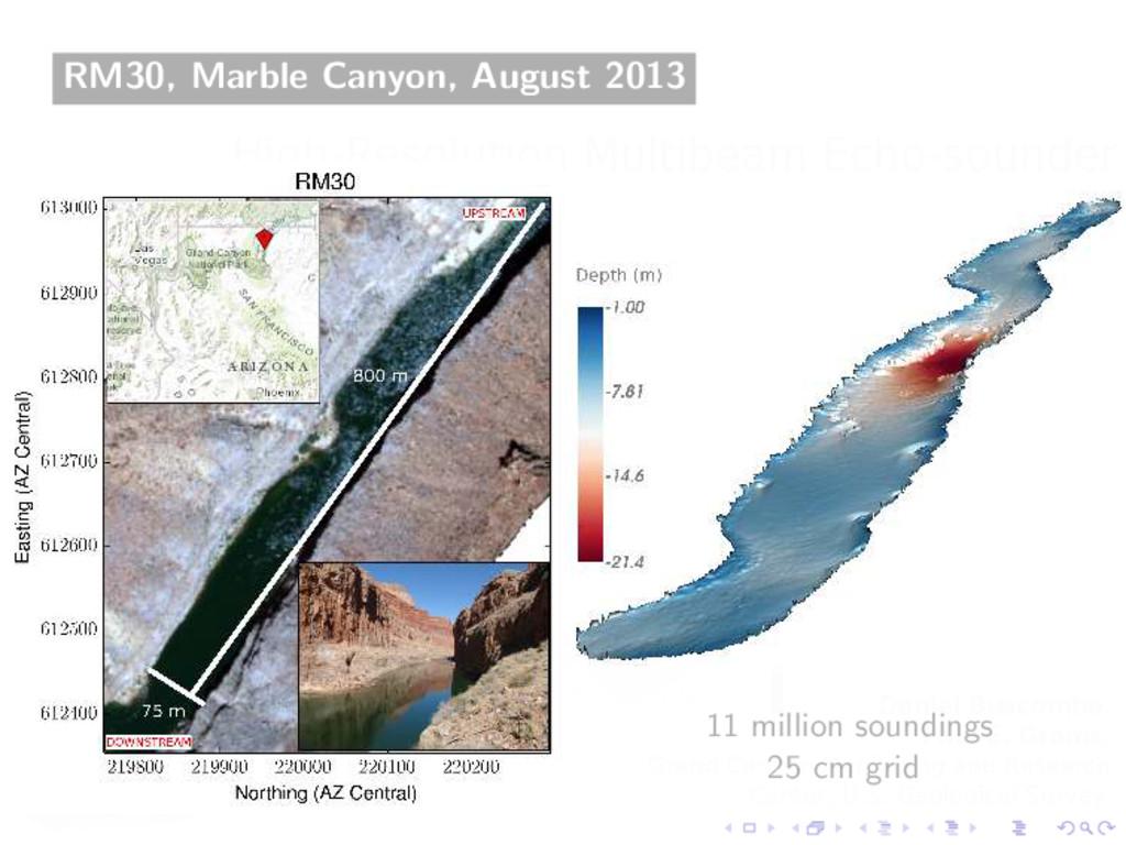 RM30, Marble Canyon, August 2013 11 million sou...