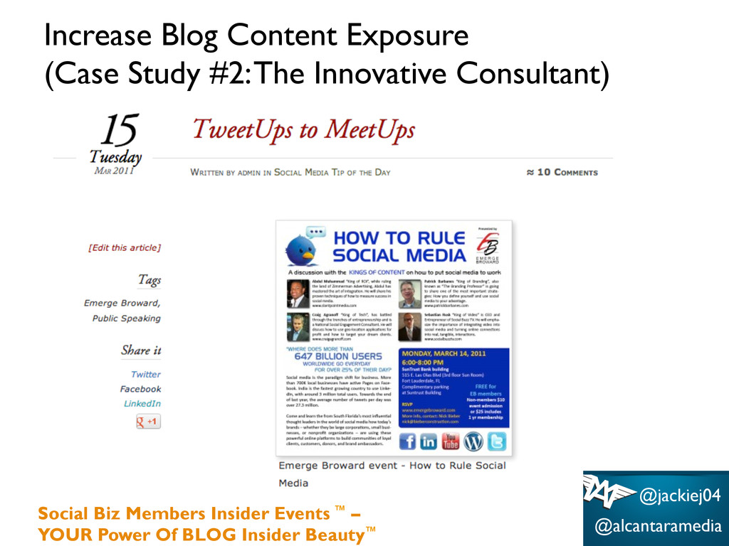 Increase Blog Content Exposure (Case Study #2: ...