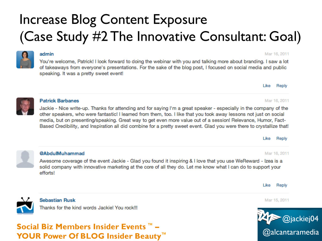 Increase Blog Content Exposure (Case Study #2 T...