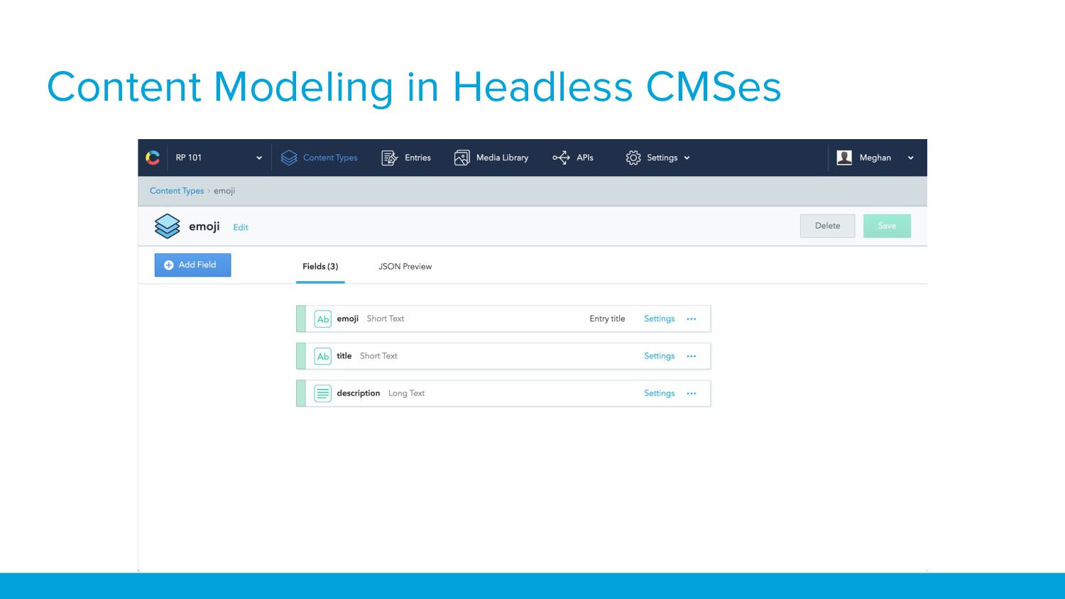Content Modeling in Headless CMSes