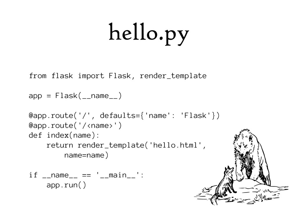 hello.py from flask import Flask, render_templa...