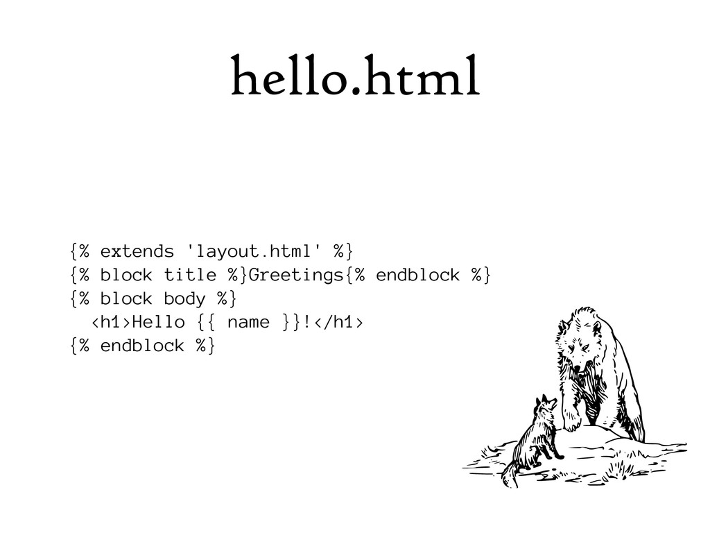 hello.html {% extends 'layout.html' %} {% block...