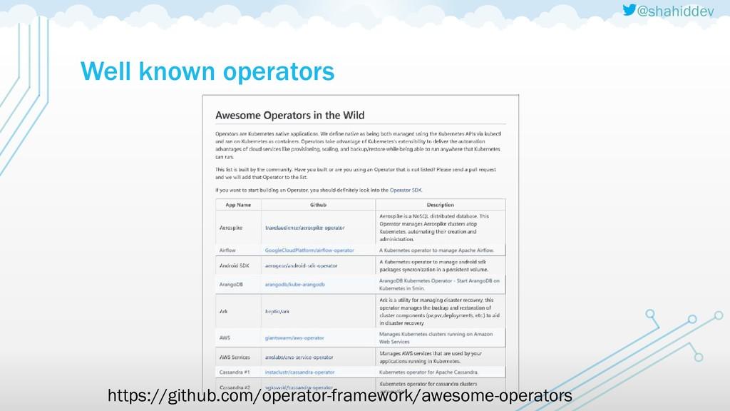 @shahiddev Well known operators https://github....