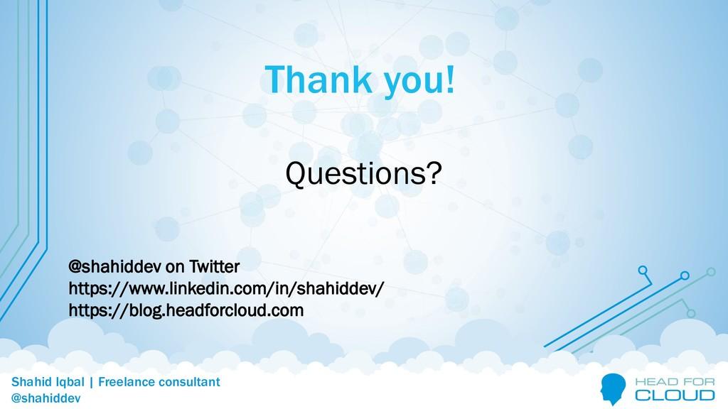 @shahiddev Shahid Iqbal | Freelance consultant ...