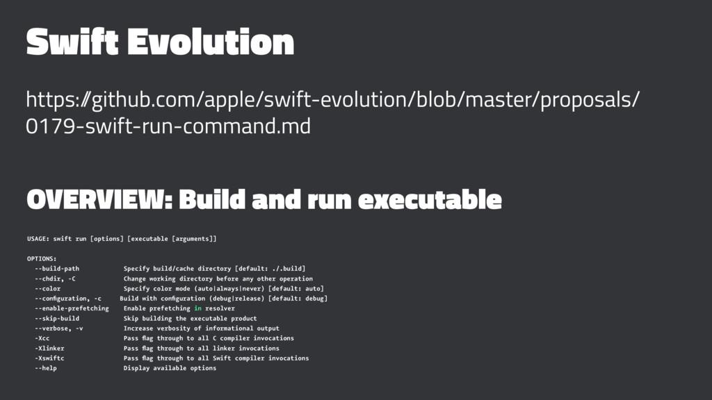 Swift Evolution https:/ /github.com/apple/swift...