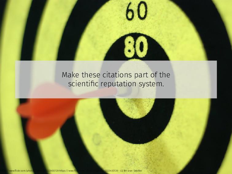 Make these citations part of the scientific repu...