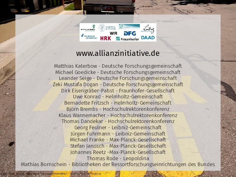 www.allianzinitiative.de Matthias Katerbow - De...