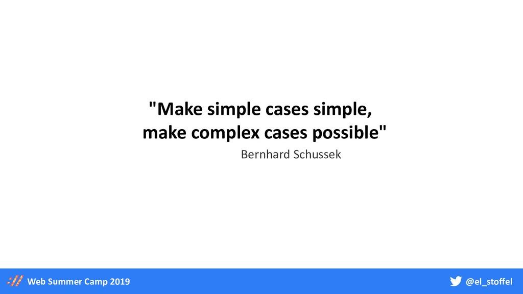 """@el_stoffel Web Summer Camp 2019 """"Make simple c..."""