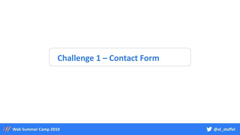 @el_stoffel Web Summer Camp 2019 Challenge 1 – ...