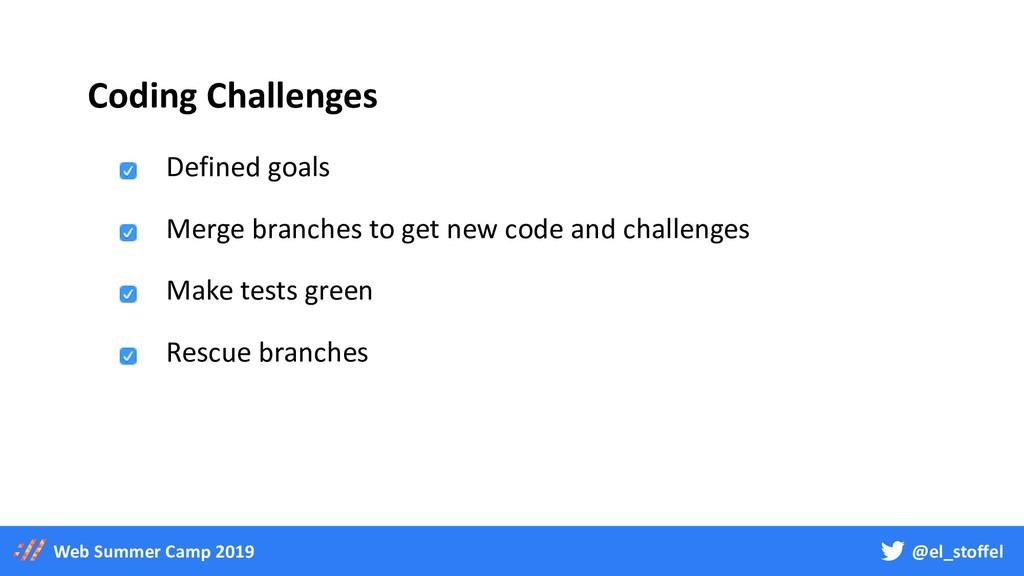 @el_stoffel Web Summer Camp 2019 Coding Challen...
