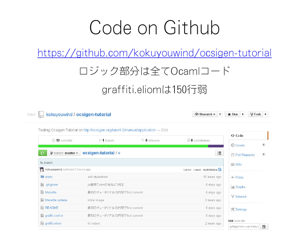 Code on Github https://github.com/kokuyouwind/o...