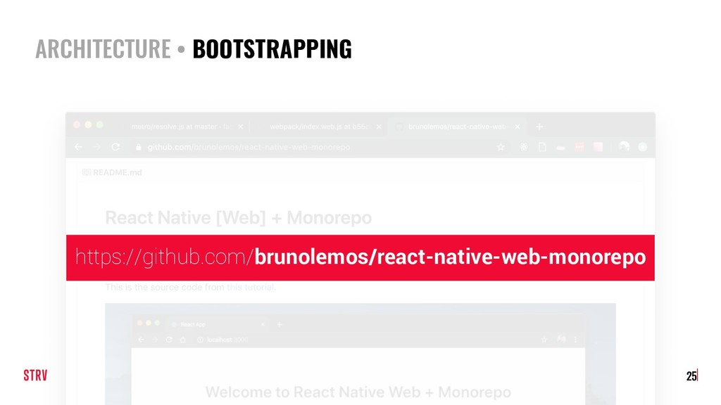 ARCHITECTURE • BOOTSTRAPPING 25 https://github....
