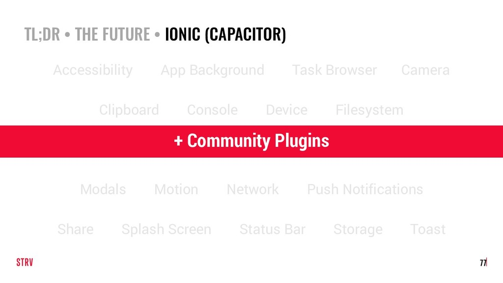 TL;DR • THE FUTURE • IONIC (CAPACITOR) 77 Acces...