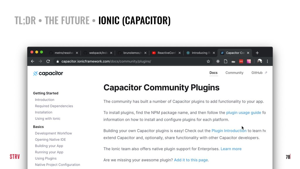 TL;DR • THE FUTURE • IONIC (CAPACITOR) 78