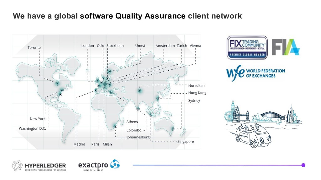 We have a global software Quality Assurance cli...
