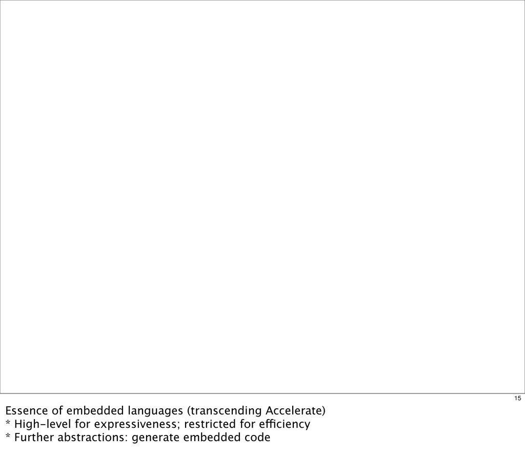 15 Essence of embedded languages (transcending ...