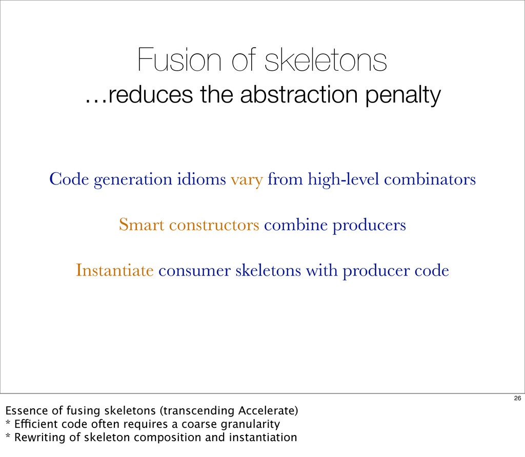 Fusion of skeletons …reduces the abstraction pe...