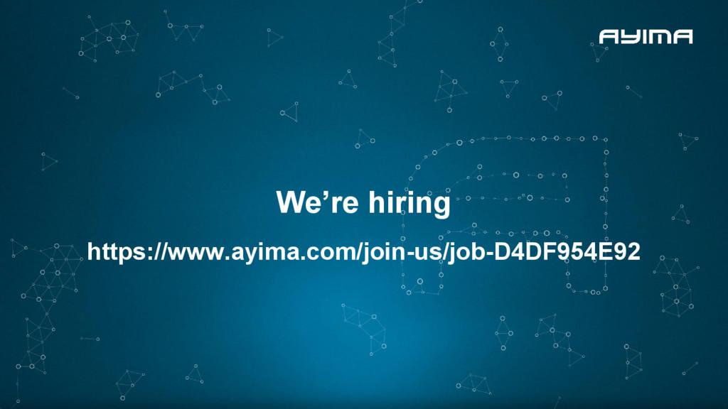 We're hiring https://www.ayima.com/join-us/job-...
