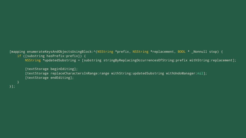 [mapping enumerateKeysAndObjectsUsingBlock:^(NS...