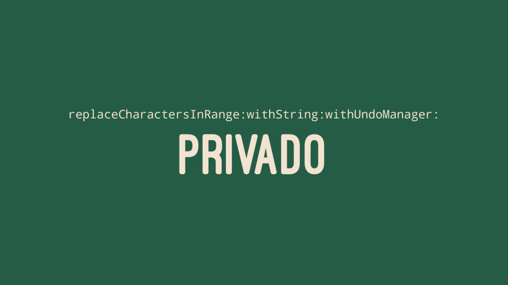 replaceCharactersInRange:withString:withUndoMan...