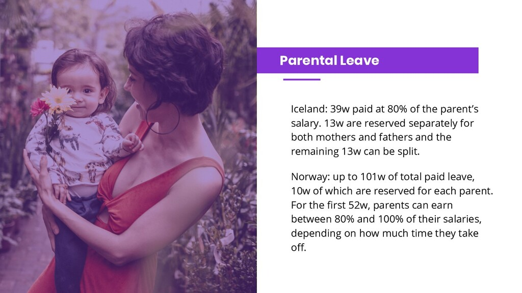 Parental Leave Iceland: 39w paid at 80% of the ...