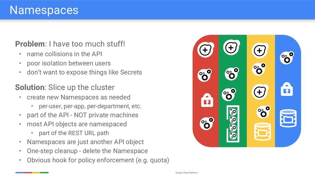 Google Cloud Platform Problem: I have too much ...