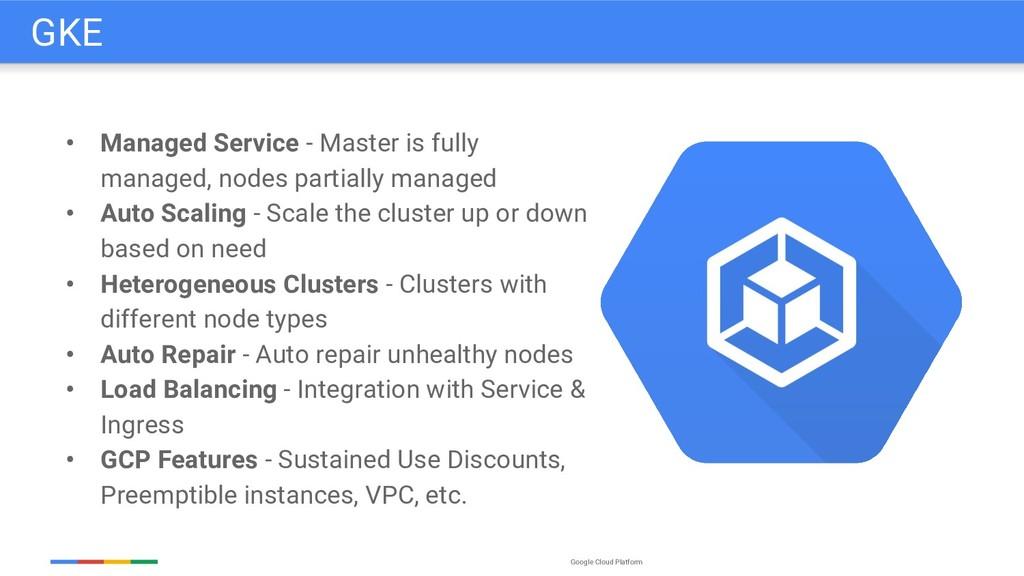 Google Cloud Platform • Managed Service - Maste...