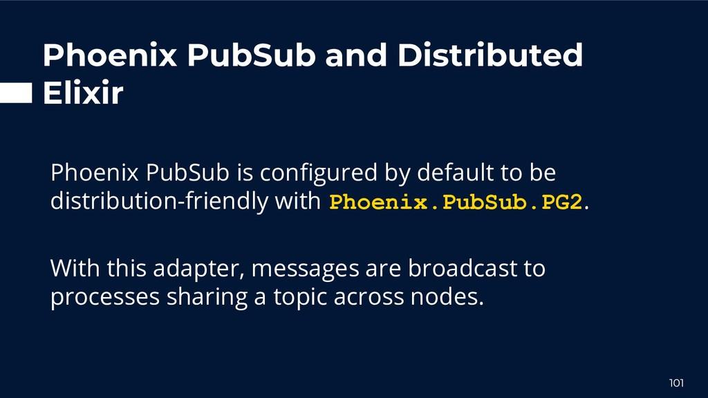 Phoenix PubSub and Distributed Elixir Phoenix P...