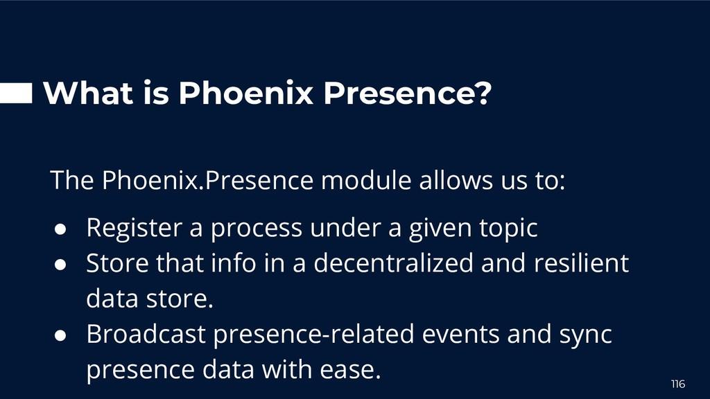 What is Phoenix Presence? The Phoenix.Presence ...