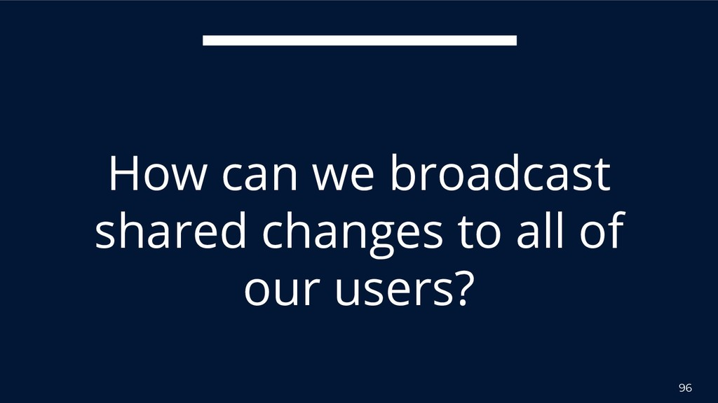 96 How can we broadcast shared changes to all o...