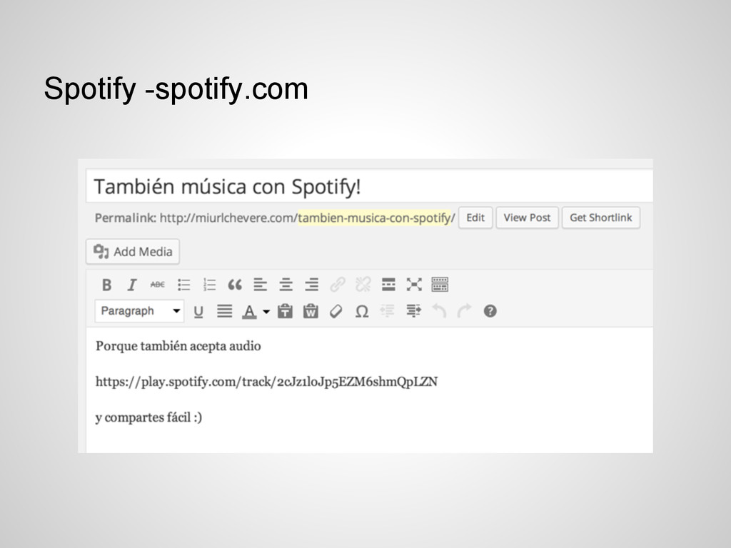 Spotify -spotify.com