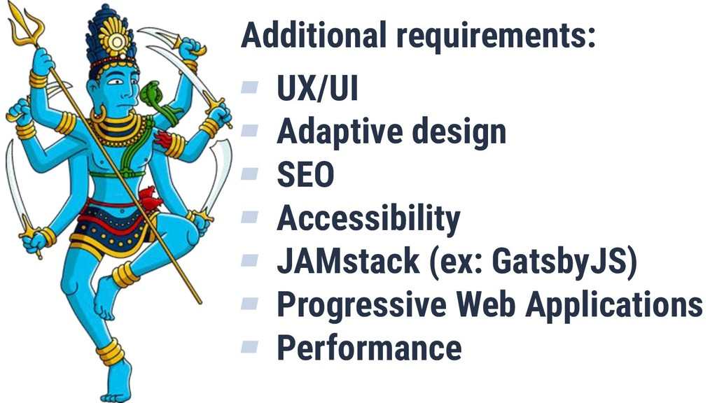 Additional requirements: ▰ UX/UI ▰ Adaptive des...